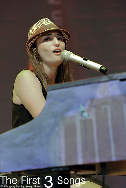 Sara Bareilles performs at Blossom Music Center in Cleveland, Ohio as part of the Lilith Fair on Tuesday July 27, 2010.