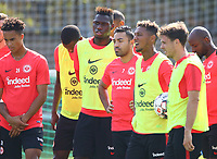 Marco Fabian (Eintracht Frankfurt), Jonathan de Guzman (Eintracht Frankfurt), Danny da Costa (Eintracht Frankfurt),  - 05.09.2018: Eintracht Frankfurt Training, Commerzbank Arena, DISCLAIMER: DFL regulations prohibit any use of photographs as image sequences and/or quasi-video.