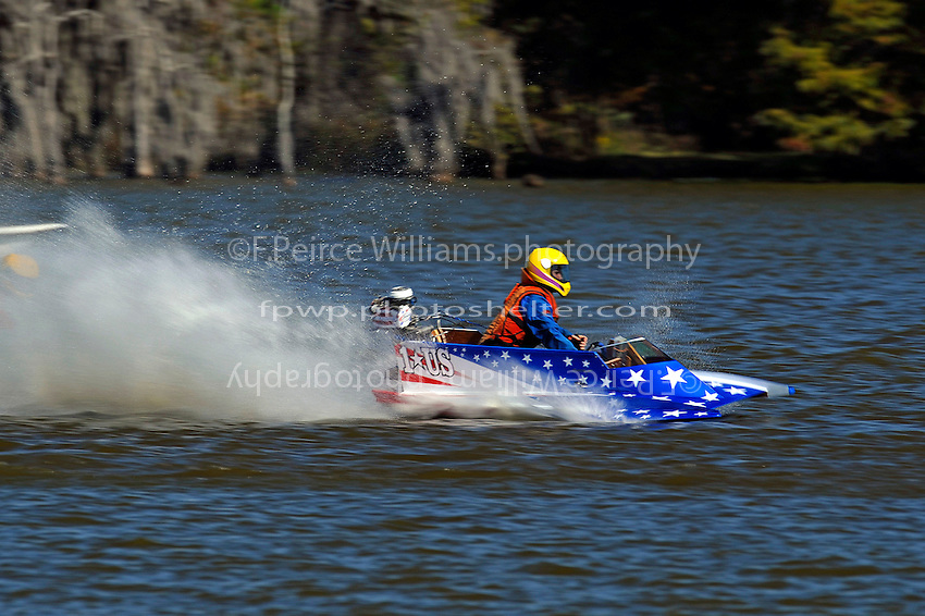 Frame 14: 1-US goes for a wild ride.   (outboard hydroplane)