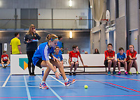 Januari 02, 2015, Rotterdam, Topsport Centrum, Ballkid selection day for the ABNAMRO world tennis tournament upcoming februari in Rotterdam.<br /> Photo: Tennisimages/Henk Koster