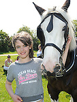 Lisa Mooney pictured at Tullyallen sports day. Photo: Colin Bell/pressphotos.ie