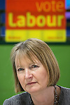 © Joel Goodman - 07973 332324 . 27/01/2014 . Manchester , UK . The Deputy Leader of the Labour Party , HARRIET HARMAN at the launch of Mike Kane's campaign for the Wythenshawe East and Sale by-election at the Woodhouse Park Lifestyle Centre in Wythenshawe , today (27th January 2014) . Photo credit : Joel Goodman