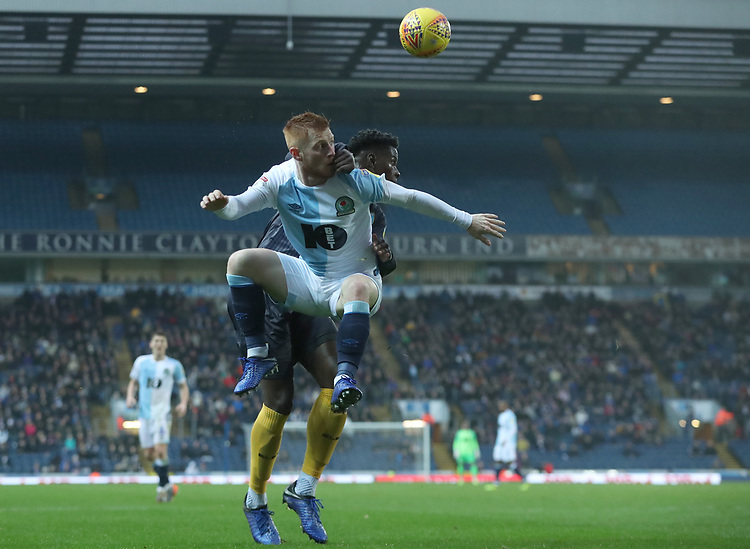 Blackburn Rovers' Harrison Reed<br /> <br /> Photographer Rachel Holborn/CameraSport<br /> <br /> The EFL Sky Bet Championship - Blackburn Rovers v Sheffield Wednesday - Saturday 1st December 2018 - Ewood Park - Blackburn<br /> <br /> World Copyright &copy; 2018 CameraSport. All rights reserved. 43 Linden Ave. Countesthorpe. Leicester. England. LE8 5PG - Tel: +44 (0) 116 277 4147 - admin@camerasport.com - www.camerasport.com