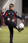 24 March 2004: Bobby Convey during pregame warmups. DC United of Major League Soccer defeated the Wilmington Hammerheads of the Pro Select League 1-0 at the Legion Sports Complex in Wilmington, NC in a Carolina Challenge Cup match..