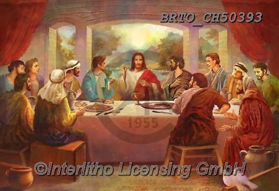 Alfredo, EASTER RELIGIOUS, OSTERN RELIGIÖS, PASCUA RELIGIOSA, paintings+++++,BRTOCH50393,#er#, EVERYDAY