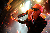 Stone Temple Pilots - Linkin Park vocalist Chester Bennington -  performing live at The House of Blues in Chicago, Illinois USA - 22 April 2015.<br />   Photo credit: Gene Ambo/IconicPix