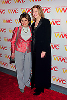 NEW YORK, NY - OCTOBER 26: Gloria Allred and Julie Burton at the Women's Media Center 2017 Women's Media Awards at Capitale on October 26, 2017 in New York City. Credit: John Palmer/MediaPunch /NortePhoto.com
