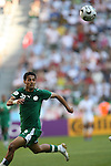 14 June 2006: Yaser Al Kahtani (KSA). Tunisia and Saudi Arabia tied 2-2 at the Allianz Arena in Munich, Germany in match 16, a Group H first round game, of the 2006 FIFA World Cup.