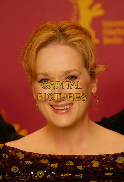 "MERYL STREEP.Photocall for ""A Prairie Home Companion"" at the 56th Berlin (Berlinale) Film Festival, Berlin, Germany..February 12th, 2006.Ref: KRA.headshot portrait.www.capitalpictures.com.sales@capitalpictures.com.©Capital Pictures"