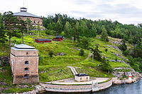 Sweden, Stockholm. Fredriksborgs fästning.