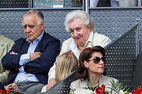 Pilar de Borbon during the ATP final of Mutua Madrid Open Tennis 2017 at Caja Magica in Madrid, May 14, 2017. Spain. /NortePhoto.com