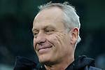 01.12.2019, Borussia Park , Moenchengladbach, GER, 1. FBL,  Borussia Moenchengladbach vs. SC Freiburg,<br />  <br /> DFL regulations prohibit any use of photographs as image sequences and/or quasi-video<br /> <br /> im Bild / picture shows: <br /> Christian Streich Trainer/Headcoach (SC Freiburg), <br /> <br /> Foto © nordphoto / Meuter