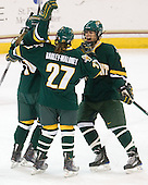 Chelsea Furlani (Vermont - 10), Erin Barley-Maloney (Vermont - 27), ? - The University of Vermont Catamounts defeated the Boston College Eagles 5-1 on Saturday, November 7, 2009, at Conte Forum in Chestnut Hill, Massachusetts.