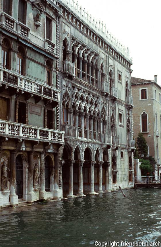 Venice:  Ca D'Oro.   Photo '83.