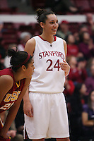 STANFORD, CA - JANUARY 29:  Ashley Cimino of the Stanford Cardinal during Stanford's 81-53 win over the USC Trojans on January 29, 2009 at Maples Pavilion in Stanford, California.