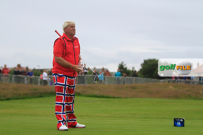 John Daly (USA) during round 1 of THE 141st OPEN CHAMPIONSHIP, Royal Lytham & St Annes GC,Lytham St Annes,Lancashire,England. 19/07/2012.Picture Fran Caffrey www.golffile.ie