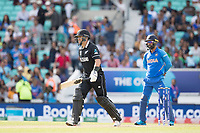 Ross Taylor (New Zealand) holes out with his team within touching distance of victory during India vs New Zealand, ICC World Cup Warm-Up Match Cricket at the Kia Oval on 25th May 2019