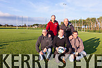 Enjoying the newly installed astro turf pitch in Camp were: Padraig O'Connell (Secretary of Jr Soccer), Colin Teahon, Adrian O'Donnell (Chair of the Sr. Soccer), Ian Hassell and Gene Finn.