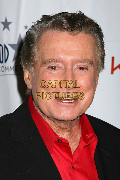 REGIS PHILIBIN.75th Annual Hollywood Christmas Parade at the Hollywood Roosevelt Hotel, Hollywood, California, USA, .26 November 2006..portrait headshot.CAP/ADM/BP.©Byron Purvis/Admedia/Capital Pictures