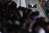 24th March 2018, Melbourne Grand Prix Circuit, Melbourne, Australia; Melbourne Formula One Grand Prix, qualifying; Crowds watch on as Charles Leclerc of Monaco driving the (16) Alfa Romeo Sauber F1 Team C37 Ferrari