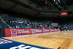 KATY, TX MARCH 6: Southland Conference Men's Basketball Game 1 - No. 5 New Orleans vs. No. 8 Texas A&M-Corpus Christi at Merrell Center in Katy on March 7, 2018 in Katy, Texas Photo: Rick Yeatts