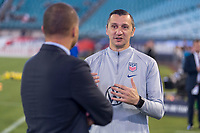 , FL - : Earnie Stewart and Vlatko Andonovski of the United States talk during a game between  at  on ,  in , Florida.
