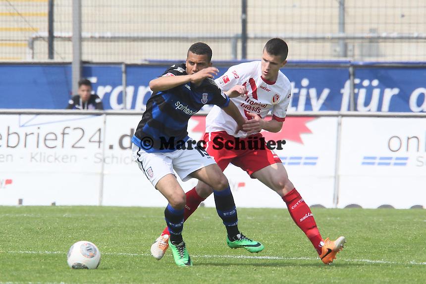 Andrew Wooten (FSV) setzt sich durch - FSV Frankfurt vs. FC Energie Cottbus, Frankfurter Volksbank Stadion