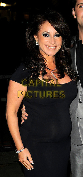 JACQUELINE GOLD .The Ann Summers Enchantment Collection launch party, The Baccarat Room, 1 Marylebone Rd., London, England..December 1st, 2008.anne half length black dress .CAP/CAN.©Can Nguyen/Capital Pictures.