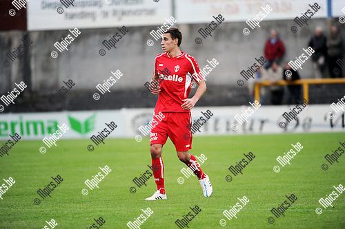 2015-09-05 / Voetbal / Seizoen 2015-2016 / KFC Zwarte Leeuw - TSV Lyra / Maarten Lardaux<br /><br />Foto: Mpics.be
