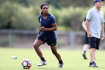 CARY, NC - AUGUST 24: Taylor Smith. The North Carolina Courage held a training session on August 24, 2017, at WakeMed Soccer Park Field 7 in Cary, NC.