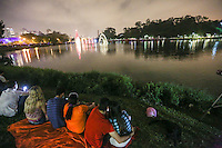 SAO PAULO, SP, 08.12.2013 - ARVORE DE NATAL SAO PAULO - Arvore de Natal do Ibirapuera e inaugurada na regiao sul de Sao Paulo na noite deste sabado, 08. (Foto: William Volcov / Brazil Photo Press).