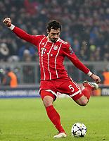 20.02.2018, Allianz Arena, Muenchen, GER, UEFA CL, FC Bayern Muenchen (GER) vs Besiktas Istanbul (TR) , <br />Mats Hummels (Muenchen)<br /><br /><br /><br /> *** Local Caption *** © pixathlon
