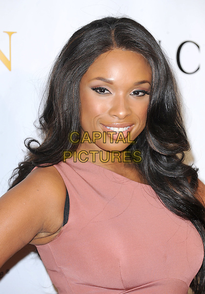 JENNIFER HUDSON.The 2nd annual Mary J. Blige Honors Concert to benefit FFAWN's Scholarship Fund held at Hammerstein Ballroom in NY, California, USA..May 1st, 2011.headshot portrait pink one shoulder   .CAP/RKE/DVS.©DVS/RockinExposures/Capital Pictures.