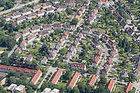 Deutschland, Hamburg, Harburg, Wilstorf, Flebbestrasse, Sudermannstrasse, Wohnen, Wohnsiedlung, Genossenschaft, Mehrfamilienhaeuser