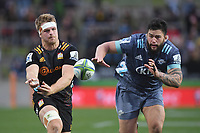 5th July 2020; Hamilton, New Zealand;  Sam Cane and Tyrel Lomax.<br />