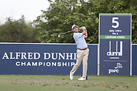 Gonzalo Fedz-Castano (ESP) during the 2nd round of the Alfred Dunhill Championship, Leopard Creek Golf Club, Malelane, South Africa. 14/12/2018<br /> Picture: Golffile | Tyrone Winfield<br /> <br /> <br /> All photo usage must carry mandatory copyright credit (&copy; Golffile | Tyrone Winfield)