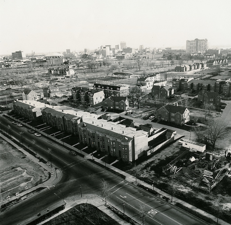 UNDATED..Redevelopment.E Ghent South (A-1-1)..New construction looking South.from Princess Anne Road...NEG#.NRHA#..