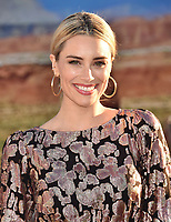 "WESTWOOD, CA - OCTOBER 07: Arielle Vandenberg attends the premiere of Netflix's ""El Camino: A Breaking Bad Movie"" at Regency Village Theatre on October 07, 2019 in Westwood, California.<br /> CAP/ROT/TM<br /> ©TM/ROT/Capital Pictures"
