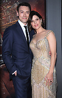 NEW YORK, NY July 10, 2018 JJ Feild, Neve Campbell attend Legendary &amp; Universal Picture present the premiere of Skyscraper   at the AMC Loews Lincoln Square 13 in New York. July 10, 2018 <br /> CAP/MPI/RW<br /> &copy;RW/MPI/Capital Pictures