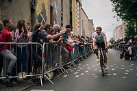 Edvald Boasson Hagen (NOR/Dimension Data) at the Team presentation in La Roche-sur-Yon<br /> <br /> Le Grand D&eacute;part 2018<br /> 105th Tour de France 2018<br /> &copy;kramon