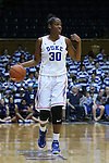 08 February 2015: Duke's Amber Henson. The Duke University Blue Devils hosted the Clemson University Tigers at Cameron Indoor Stadium in Durham, North Carolina in a 2014-15 NCAA Division I Women's Basketball game. Duke won the game 89-60.