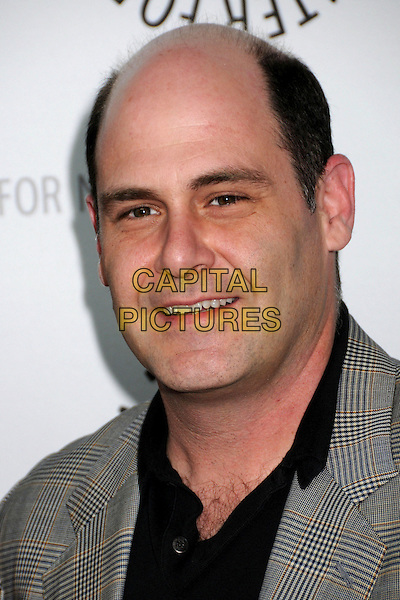 "MATTHEW WEINER .The 25th Annual Paley TV Festival Presents ""Mad Men"" at Arclight Cinemas, Hollywood, California, USA,  27 March 2008..portrait headshot .CAP/ADM/BP.©Byron Purvis/Admedia/Capital PIctures"