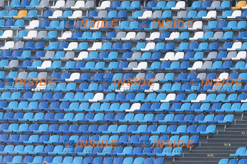 Empty stands<br /> Napoli 29-9-2019 Stadio San Paolo <br /> Football Serie A 2019/2020 <br /> SSC Napoli - Brescia FC<br /> Photo Cesare Purini / Insidefoto