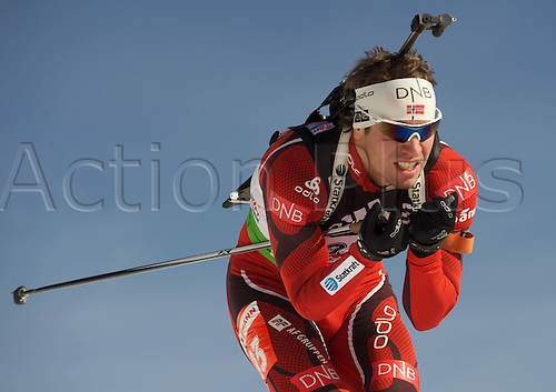 09.12.2011, Hochfilzen, Austria. The IBU Biathlon men's 10km Sprint Svendsen Emil Hegle NOR Biathlon World Cup