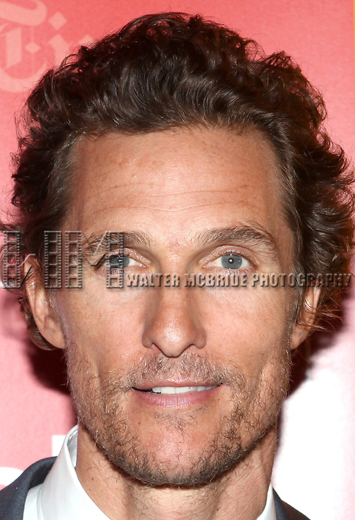 Matthew McConaughey backstage at 'TimesTalks: Stage To Screen' with David CarrNew York City on 7/24/2012.