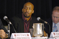 Brian Davis, Managing Partner of Blue Devil Ventures, and investor of DC United Holdings, presented as the new group that owns and controls the operating rights for DC United of Major League Soccer, January 8, 2007.