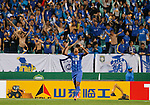 Jeonbuk Hyundai Motors vs Jiangsu FC during their 2016 AFC Champions League Group E match on May 4, 2016 at the Jeonju World Cup Stadium in Jeonju, South Korea. Photo by Lee Jae-Won / Power Sport Images