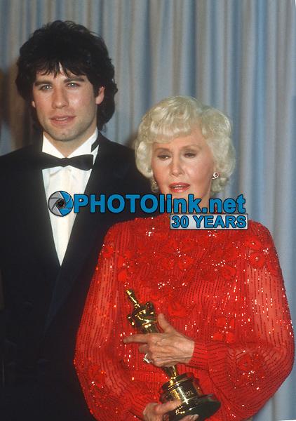 John Travolta Barbara Stanwyck 1982<br /> Photo By John Barrett/PHOTOlink.net