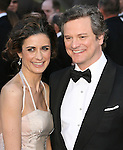 Colin Firth and wife attends the 83rd Academy Awards held at The Kodak Theatre in Hollywood, California on February 27,2011                                                                               © 2010 DVS / Hollywood Press Agency