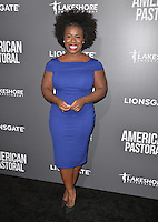BEVERLY HILLS, CA. October 13, 2016: Uzo Aduba at the Los Angeles premiere of &quot;American Pastoral&quot; at The Academy's Samuel Goldwyn Theatre.<br /> Picture: Paul Smith/Featureflash/SilverHub 0208 004 5359/ 07711 972644 Editors@silverhubmedia.com